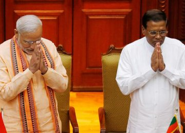 India, Lanka  Mend Ties