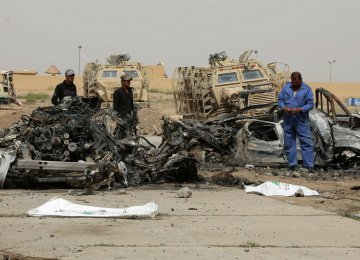 2 Iraqi Generals Killed in IS Suicide Attack