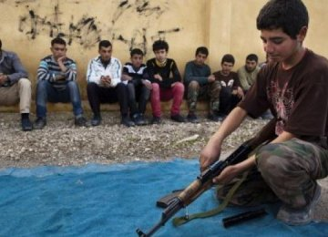 52 IS Child Soldiers Killed in Syria
