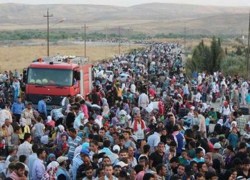 60,000 Syrians Displaced by IS Attack