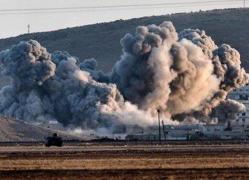 IS Under Fire in Syria, Iraq