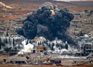 8,500 IS Militants Killed  in Airstrikes Over 7 Months
