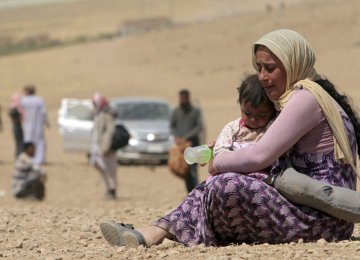 UN: IS Committing  Staggering Crimes in Iraq
