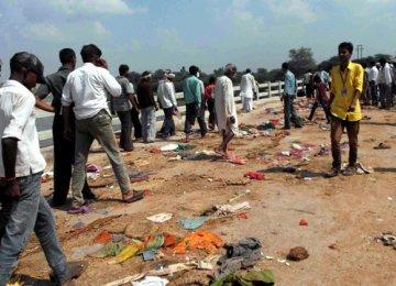 27 Die in India Stampede