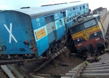 Dozens Killed in India Train Accidents