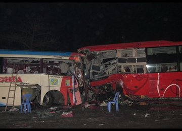 15 Killed in Indian Bus Accident