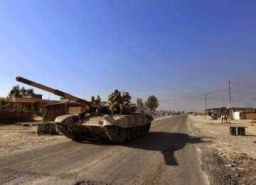 Iraq Deploys Tanks to Stop IS Push for East