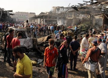 Twin suicide bombings target Baghdad