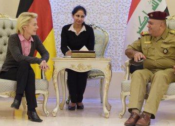 Germany, Iraq Discuss Refugees