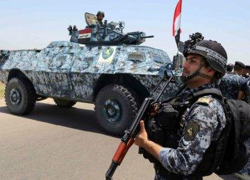Iraqi Forces Retake Town Near Tikrit