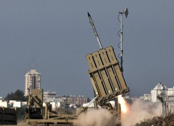 Israel Lobbies Congress for Additional Missile Defense Funds