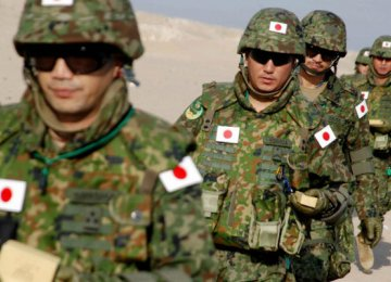 Japan  to Expand Military Role
