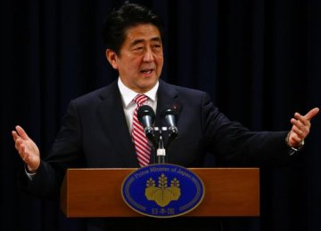 Abe to Call Snap Elections