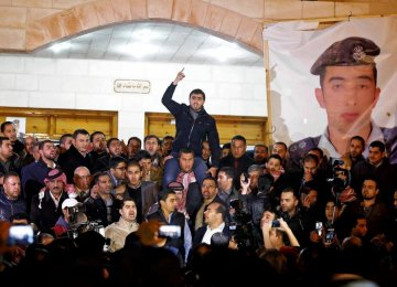 Jordan Executes 2 Al-Qaeda Captives After IS Burns Pilot