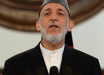Karzai Blames US, Pakistan for Afghan Misery