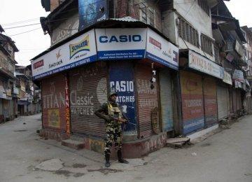 Indian Modi Visits Kashmir