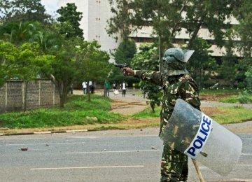 Kenya Police in Fierce Clash With Al-Shabaab