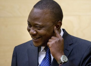 Kenyatta Becomes First President to Appear at ICC
