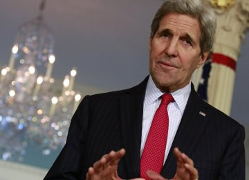 Kerry: No Military Solution to Syria Crisis