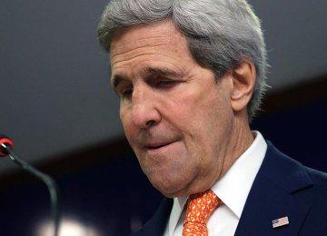 Kerry Planning Arab States Tour