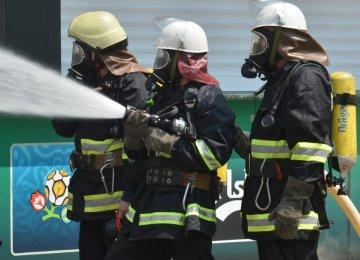 Huge Blast Hits Fuel Depot Near Kiev