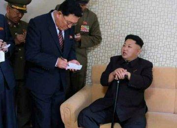 N. Korea's Kim Appears  in Public