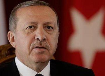 Erdogan Speaks of Kobane Plot