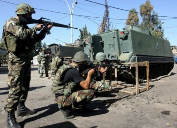Saudi-Funded French Arms in Lebanon