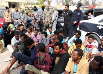 Libya Detains 600 African Migrants