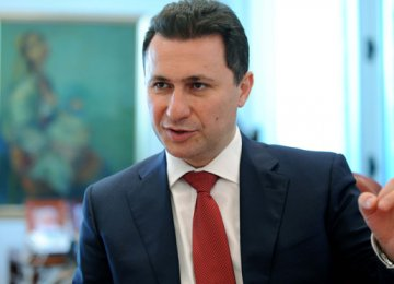 Macedonia PM Defiant