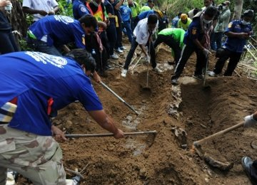 Malaysia Finds Mass Graves