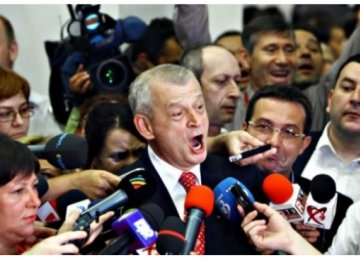 Bucharest Mayor Detained For Taking Bribes