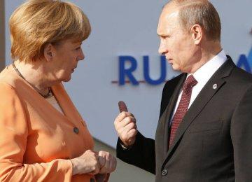 Merkel Calls for Russia Cooperation