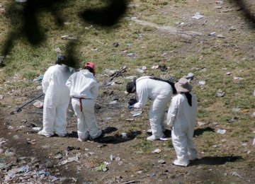 Mass Graves Found in Mexico