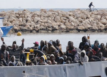 117 Migrants Rescued Off Greek Island