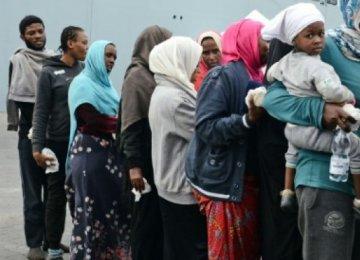 1,200 Migrants Arrive in Sicily