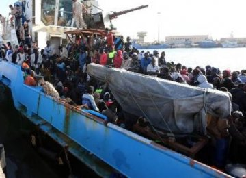 1,800 Migrants Rescued Off Italy