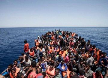500,000Refugees Want Mediterranean Crossing