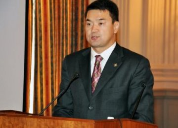 New PM  in Mongolia