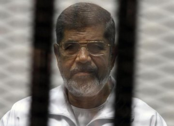 Morsi Avoiding Prison Food