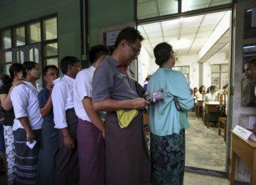 Voting in Myanmar, Rohingyas Excluded