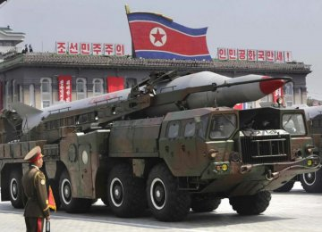North Korea Again Fires Short-Range Projectiles