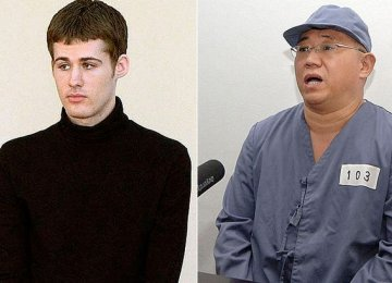 N. Korea Captives  Back in US