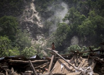Nepal Quake Toll Highest on Record