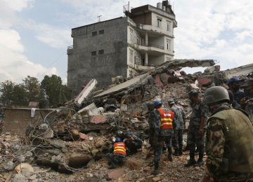 Nepal Needs $6.6b for Post-Quake Reconstruction