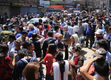 Fresh Quake Rattles Nepal