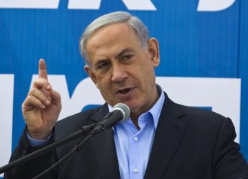 Netanyahu Denies Backing Away  From Two-State Solution