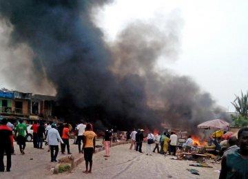Blast Kills 50 in Nigerian Market