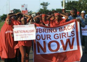 Nigeria Chibok Girls Seen With Boko Haram