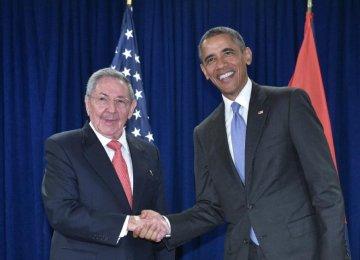 Obama, Castro Meet in NY